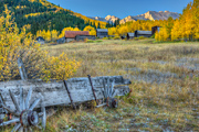 Colorado ghost town photo