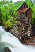 Photograph of the Crystal Mill, Colorado