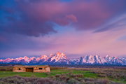 Photograph of Cunningham Cabin in Grand Teton National Park, Wyoming.