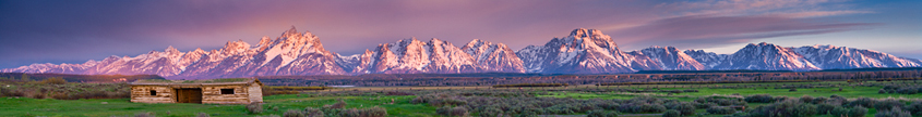 Wyoming Panoramic Photograph
