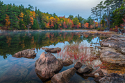 Autumn photograph of Maine.