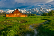 Photograph of Grand Teton National Park, Wyoming.