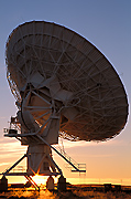 Radio Telescope Antenna, New Mexico.