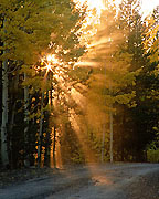 Photograph of Sun Rays, Colorado