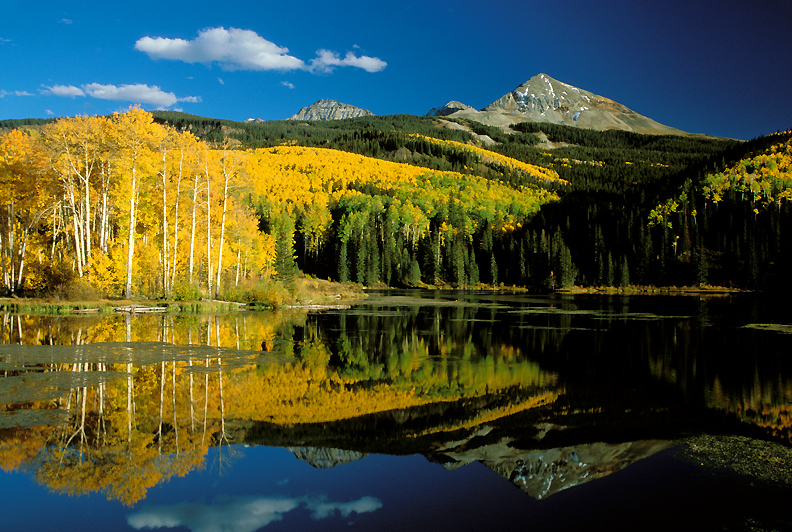 Woods Lake in the Autumn