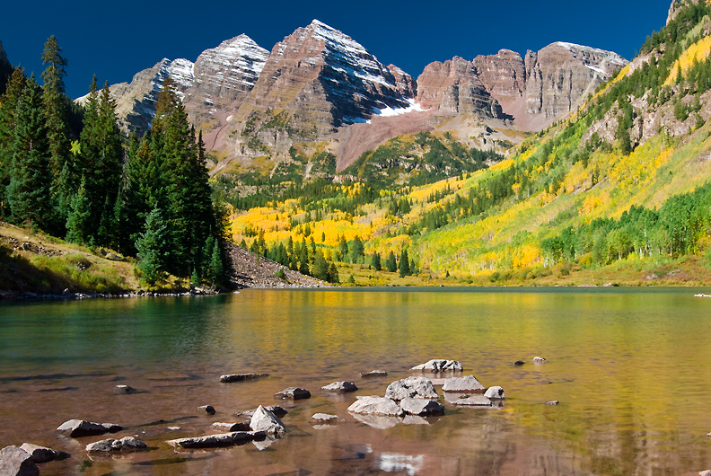 maroon bells lake at - photo #4