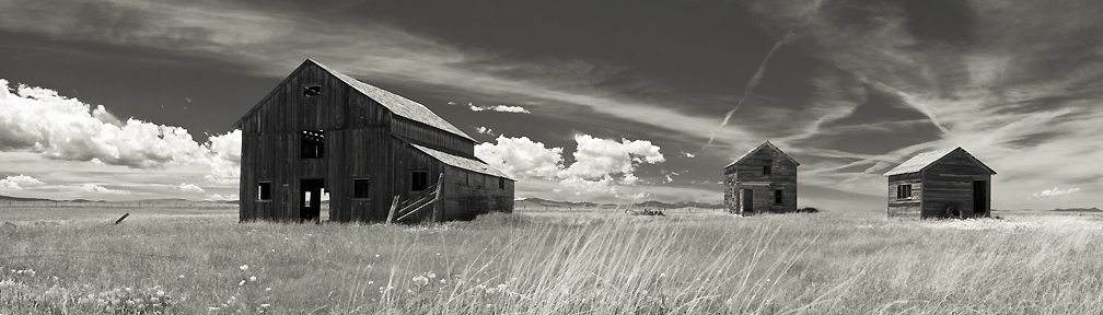 Montana panoramic landscape photograph
