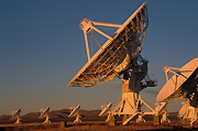 Photograph of the Very Large Array.